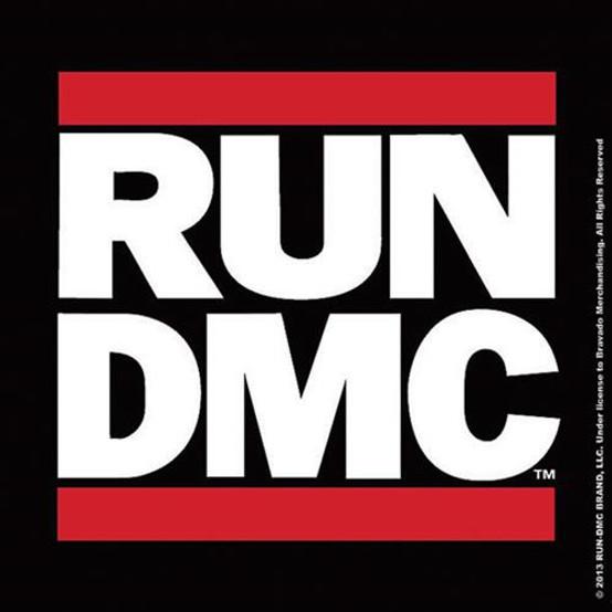 RUN DMC Logo Single Cork Coaster