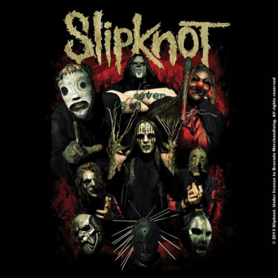 Slipknot Come Play Dying Single Cork Coaster