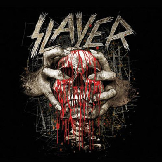Slayer Skull Clench Single Cork Coaster