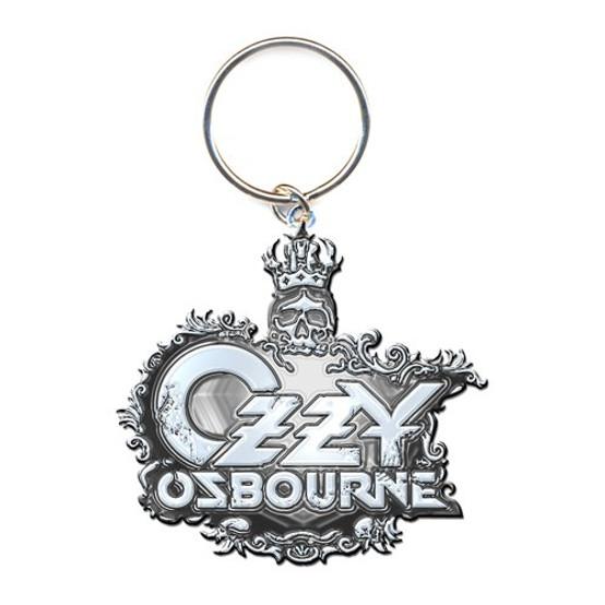 Ozzy Osbourne Crest Logo Keychain (Die-Cast Relief)  OZ-KEY-01