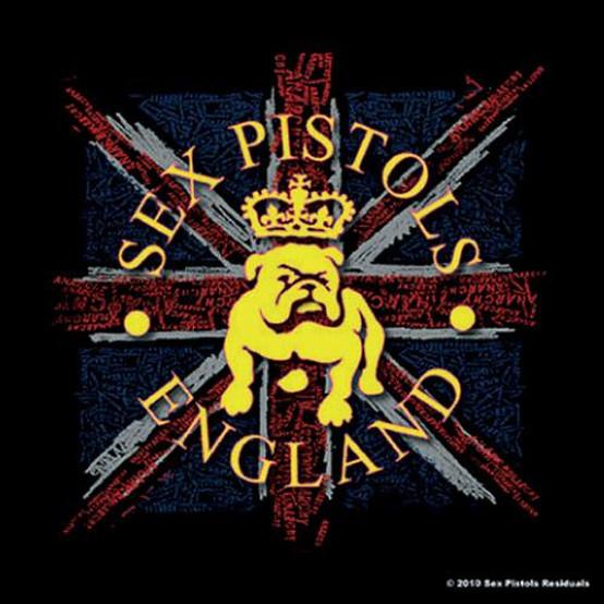 Sex Pistol Bull Dog Single Cork Coaster