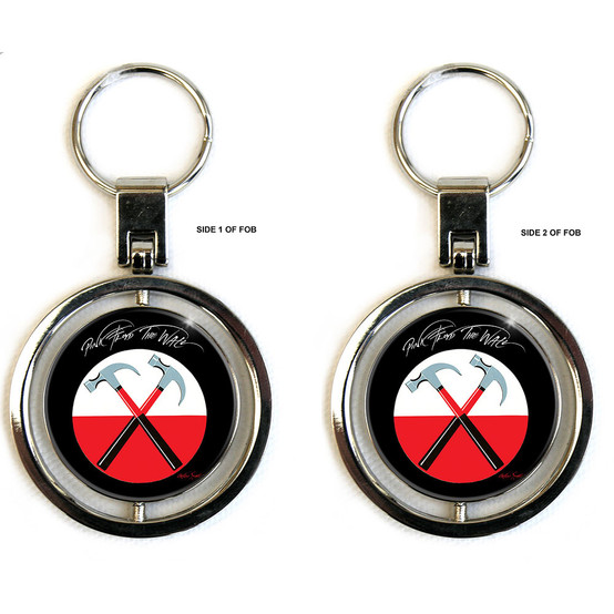 Pink Floyd The Wall Keychain (Spinner)  PINK-SPIN-KEY-01