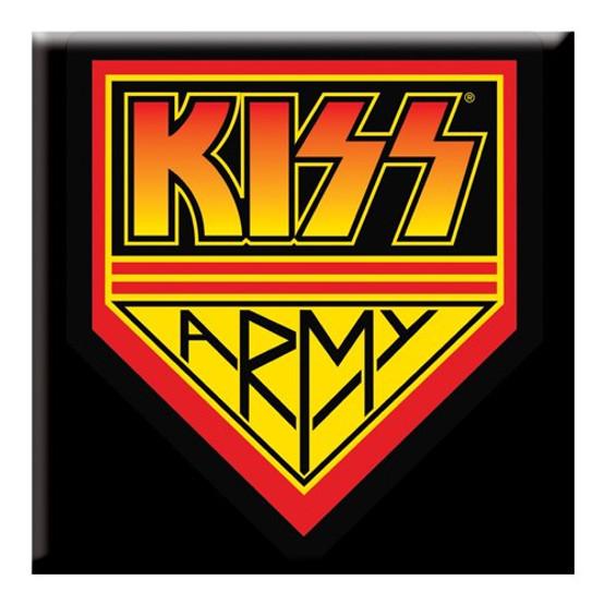 KISS Army Fridge Magnet  KISS-MAG-01