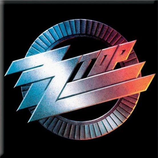 ZZ Top Circle Fridge Magnet  ZZ-MAG-01