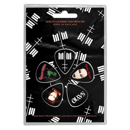 Marilyn Manson MM Plectrum Pack  PP-033