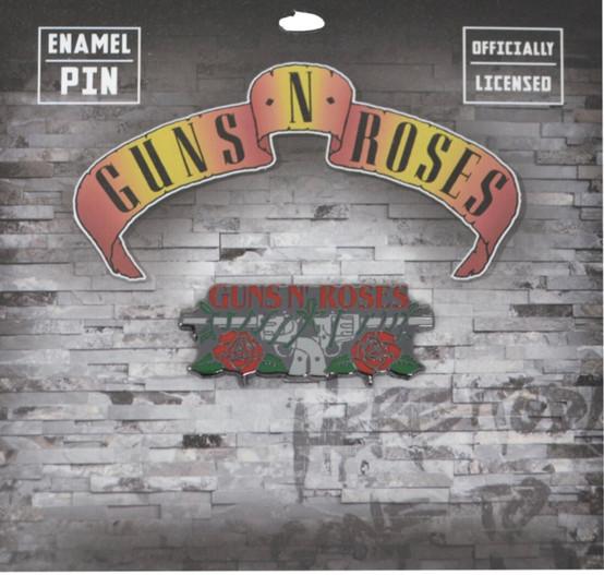 Guns N' Roses Revolvers Enamel Pin