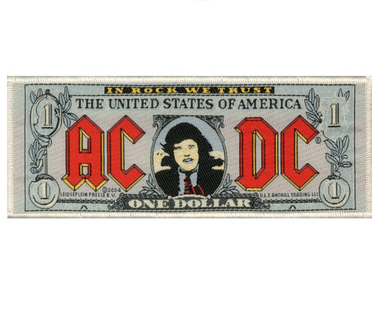 ACDC Bank Note Patch SP1905