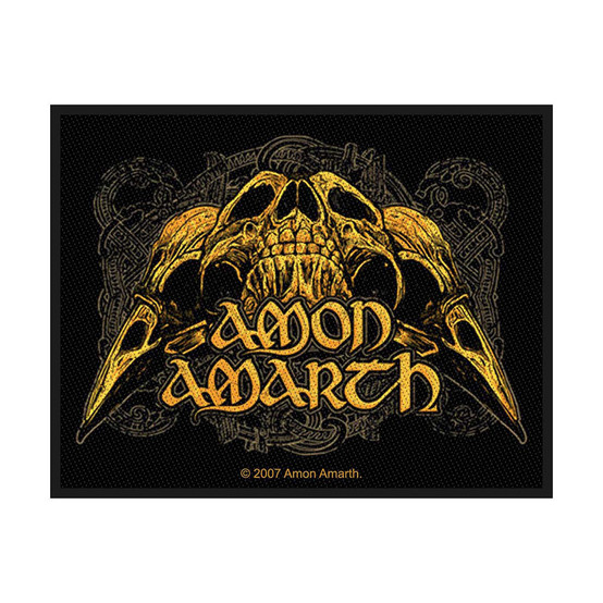 Amon Amarth Raven Skull Patch  SP2231