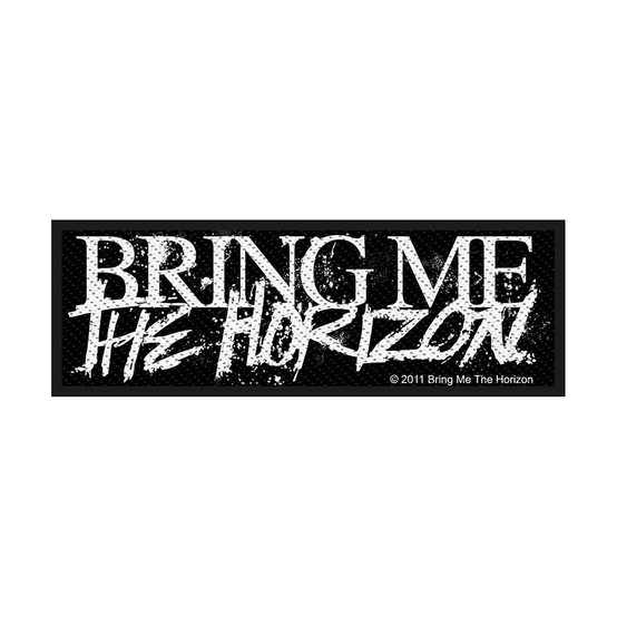 Bring Me The Horizon Horror Logo Patch  SP2595