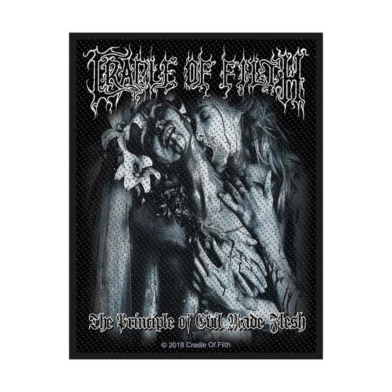 Cradle Of Filth The Principle Of Evil Made Flesh Standard Patch  SP3032
