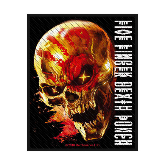 Five Finger Death Punch And Justice for None Patch  SP2987