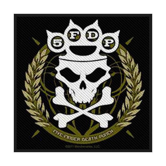 Five Finger Death Punch Knuckles Crown Patch  SP2604