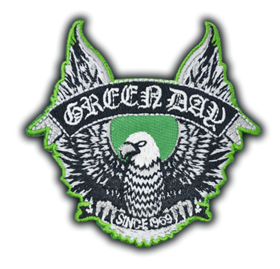 Green Day Since 1989 Patch  RPGRE001
