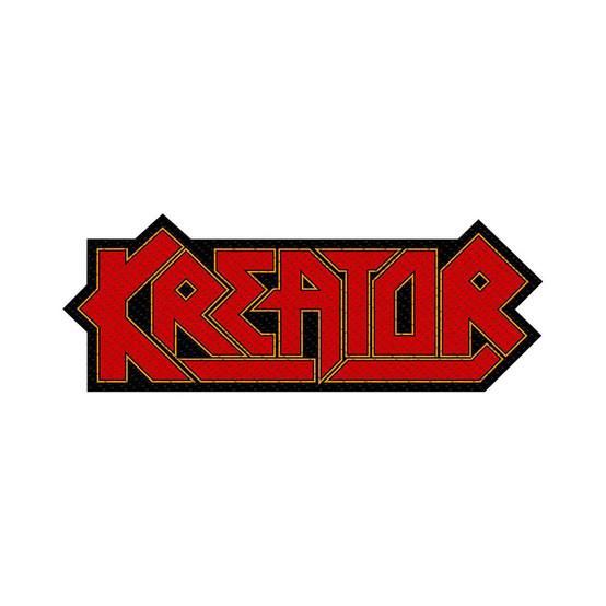Kreator Logo Cut-Out Patch  SP2866