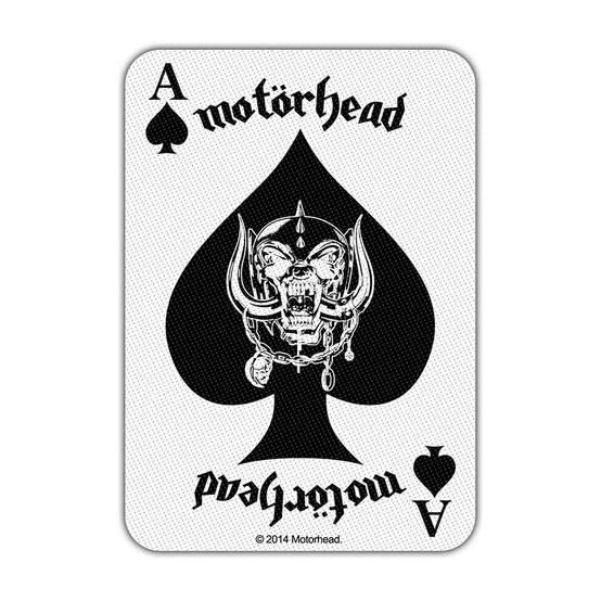 Motörhead Ace of Spades Card Patch  SP2742