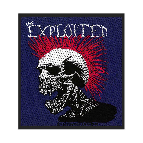 The Exploited Mohican Patch  SP1183