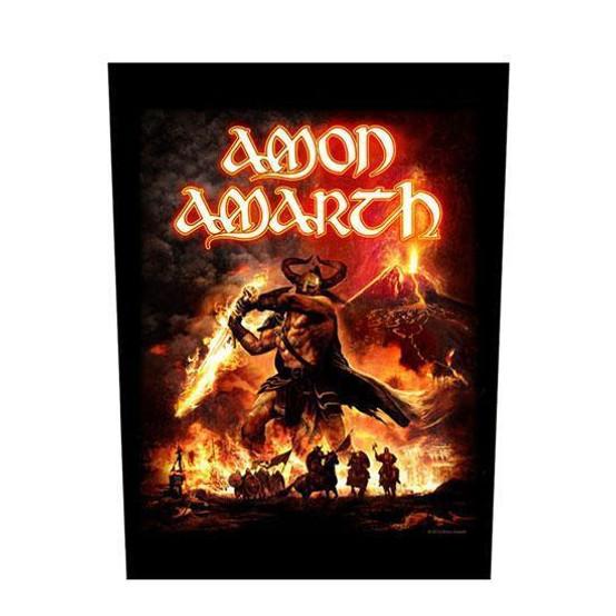 Amon Amarth Suturn Rising Back Patch  BP0908