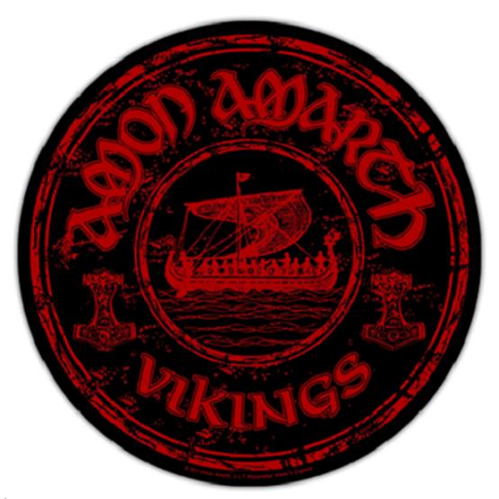 Amon Amarth Vikings Circular Back Patch  BP0852