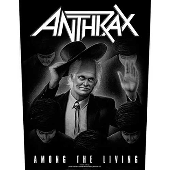 Anthrax Among the Living Back Patch  BP0981