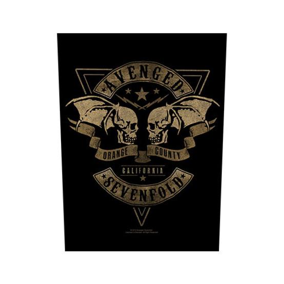 Avenged Sevenfold Orange County Back Patch  BP0999