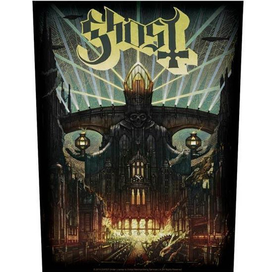 Ghost Meloria Back Patch  BP1022