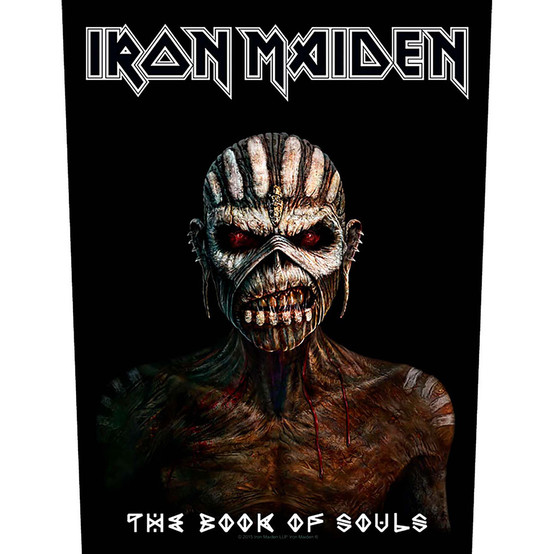 Iron Maiden The Book of Soul Back Patch  BP1029