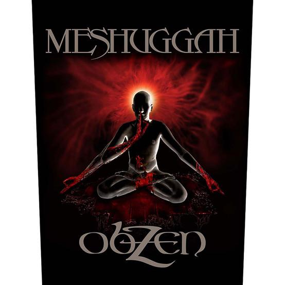 Meshuggah Obzen Back Patch  BP1084