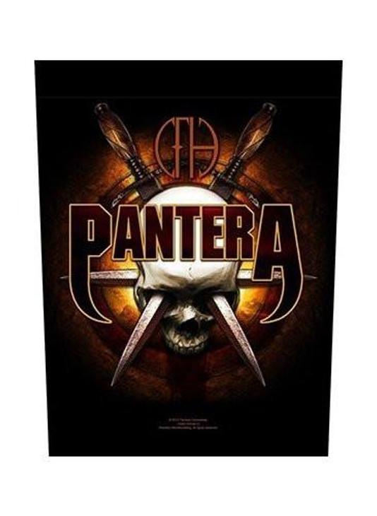 Pantera Skull Knives Back Patch  BP897