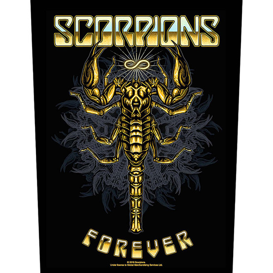 Scorpions Forever Back Patch BP1108
