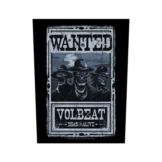 Volbeat Wanted Back Patch  BP0997