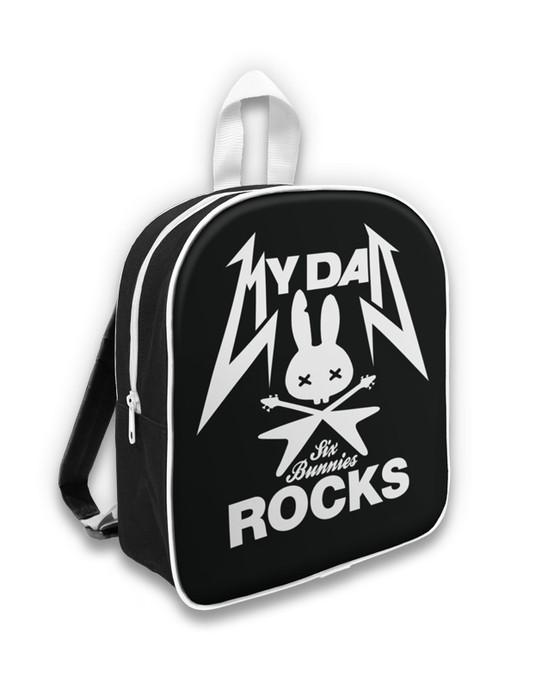 Six Bunnies Rock Group Kid's Backpack