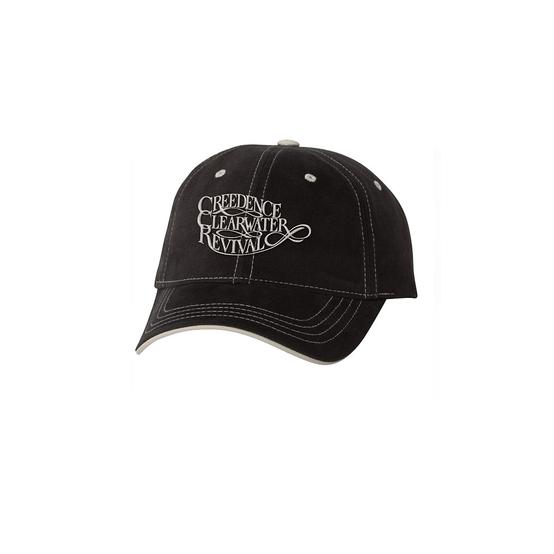 Creedence Clearwater Revival Logo Baseball Cap  CCR-CAP-01B