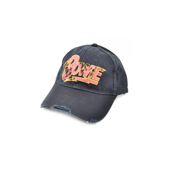 David Bowie Flash Logo Baseball Cap  BOW-CAP-01