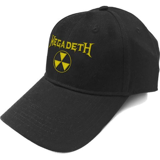 Megadeth Hazard Logo Baseball Cap  MEGA-CAP-02B