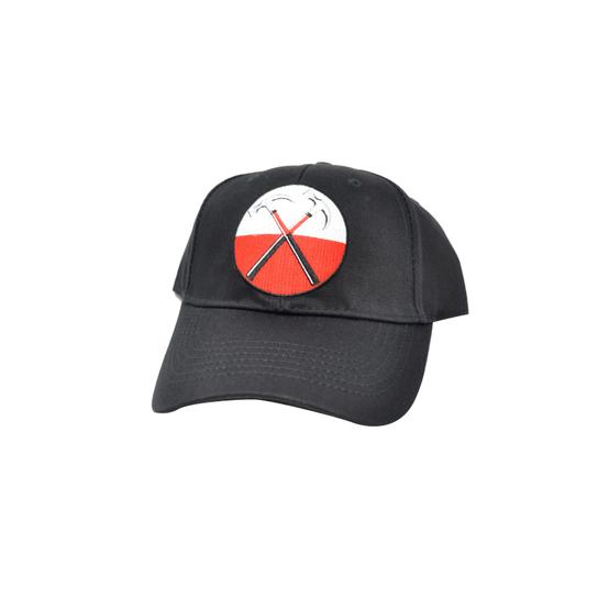 Pink Floyd The Wall Hammers Logo Baseball Cap  PINK-CAP-02