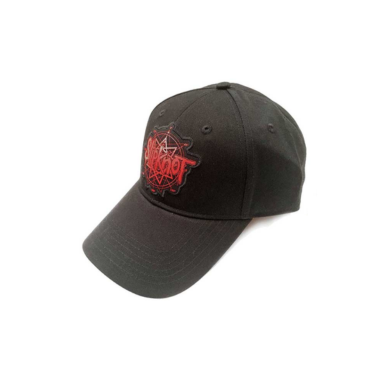 Slipknot Red Logo Back Logo Baseball Cap  SK-BBCAP-01