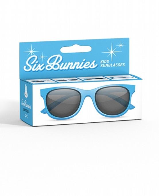 Liquor Brand Wayfarer Blue Kids Sunglasses  SB-KGL-19005-BLU