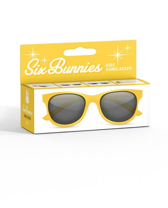 Liquor Brand Wayfarer Yellow Kids Sunglasses  SB-KGL-19006-YEL