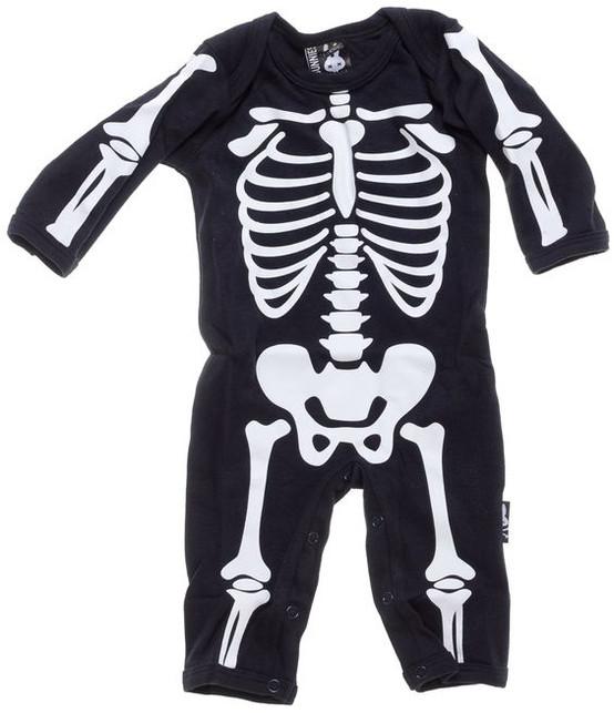 Bunnies Skeleton Playsuit