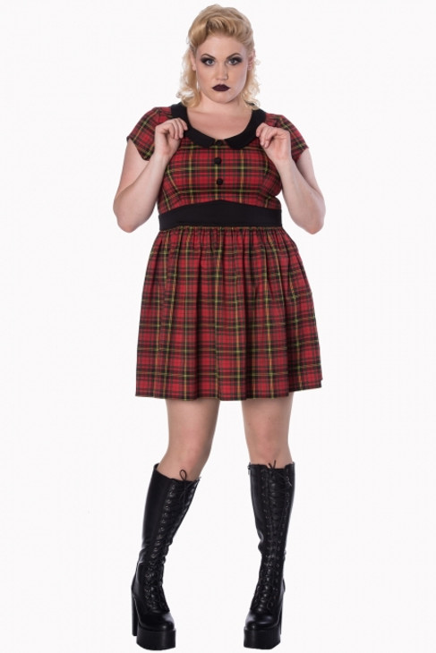 Banned Great Heights Plus Size Dress  DR-5399PLUS