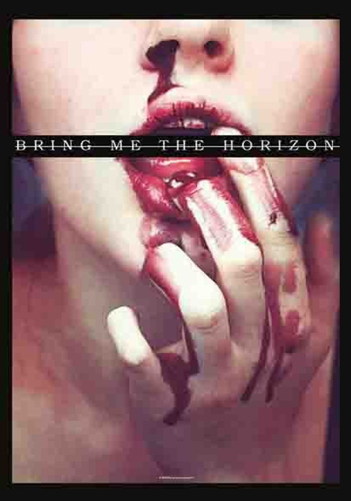 Bring Me the Horizon Blood Lust Wall Flag  HFL1135