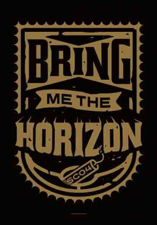 Bring Me the Horizon Dynamite Shield Wall Flag  HFL1155