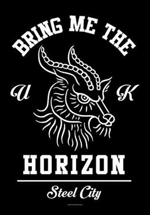 Bring Me The Horizon Goat Wall Flag  HFL1172