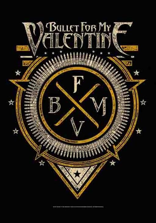 Bullet For My Valentine B.F.M.V. Emblem Wall Flag  HFL1154