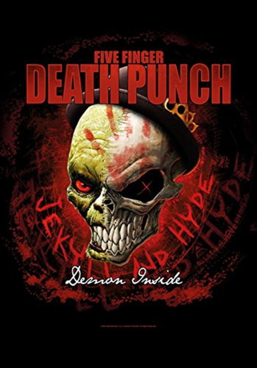 Five Finger Death Punch Dapper Wall Flag  HFL1182