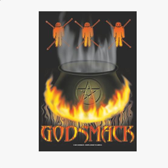 Godsmack Wall Flag  HFL362