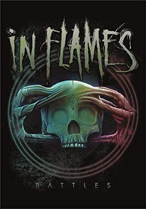 In Flames Battles Wall Flag  HFL1190