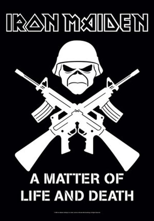 Iron Maiden Matter of Life Wall Flag  HFL0804