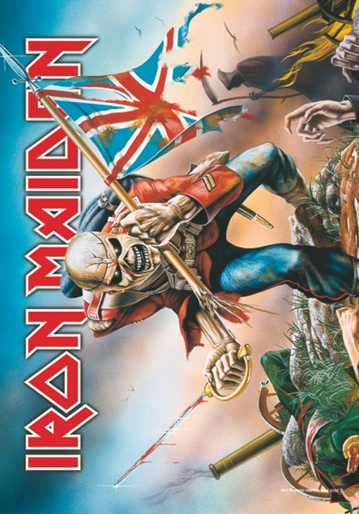 Iron Maiden Trooper Wall Flag  HFL0663