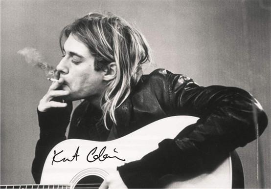 Kurt Cobain Wall Flag  HFL0891